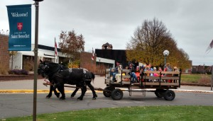 Ride for Trick or Treaters at St. Benedict's Halloween in the Halls